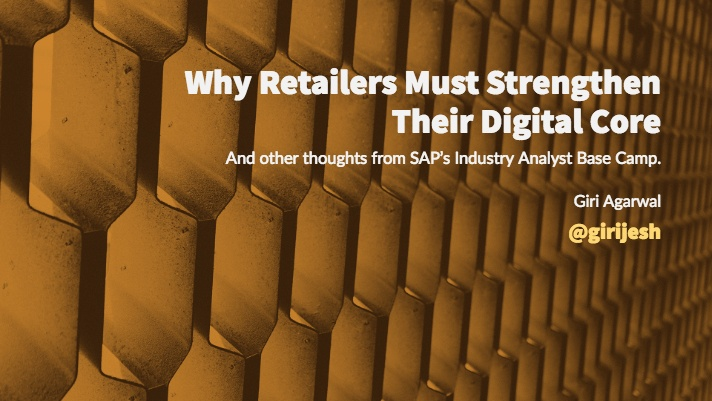 Why Retailers Must Strengthen Their Digital Core