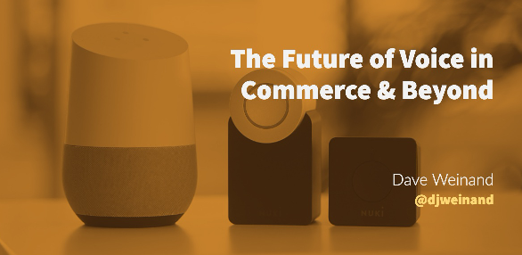 Blog, The Future of Voice in Commerce & Beyond, Dave Weinand, Incisiv