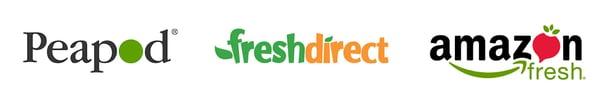 Peapod Freshdirect Amazon
