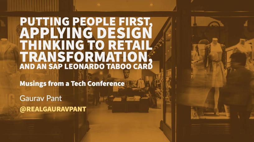 SAP Retail Executive Forum Blog